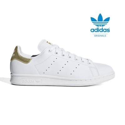 adidas アディダスオリジナルス ホワイト ゴールド スタンスミス EE8836 シューズ スニーカー レディース メンズ