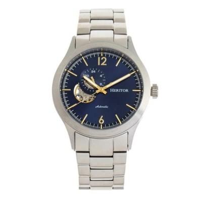 腕時計 ヘェリィタァ メンズ Heritor Antoine Automatic Blue Dial Men's Watch HR8503