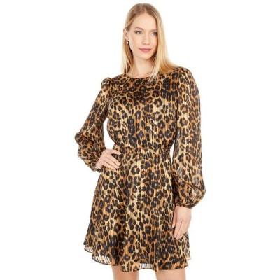 ミリー レディース ワンピース トップス Elma Cheetah Burnout Dress