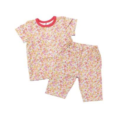 【Si・Shu・Non】シ・シュ・ノン SKAPE オンナノコハンソデパジャマ キッズパジャマ, Kids' Pajamas