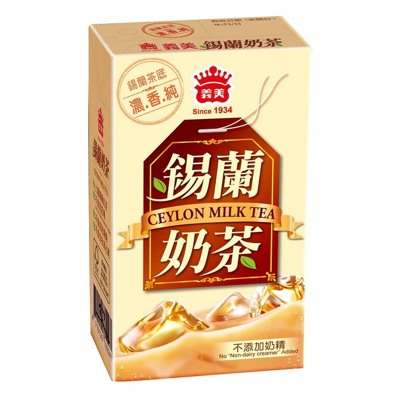 義美錫蘭奶茶 250ML