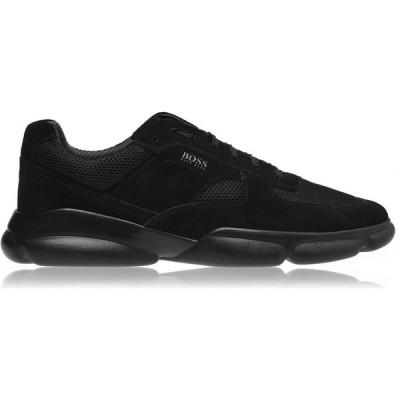 ヒューゴ ボス BOSS メンズ スニーカー シューズ・靴 Rapid Runner Trainers Black