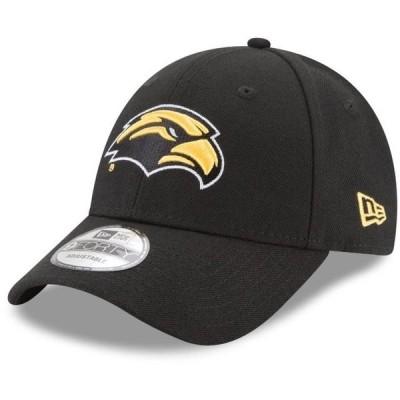 ユニセックス スポーツリーグ アメリカ大学スポーツ Southern Miss Golden Eagles New Era The League 9FORTY Adjustable Hat - Black