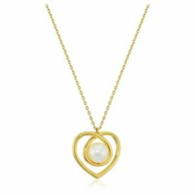 Kate Spade New York Infinite Hearts Pendant Necklace Cream/Gold One Size
