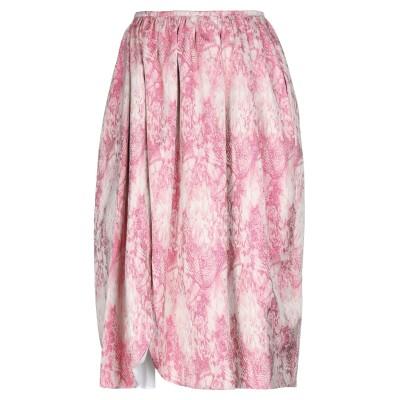 ブライアン デールズ BRIAN DALES 7分丈スカート フューシャ 40 コットン 100% 7分丈スカート