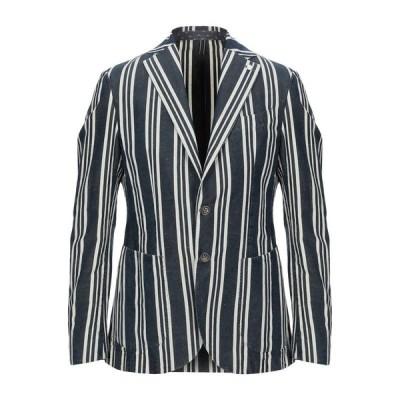 LUIGI BIANCHI ROUGH テーラードジャケット ファッション  メンズファッション  ジャケット  テーラード、ブレザー ダークブルー
