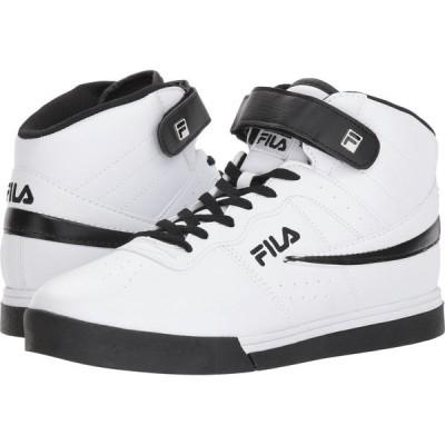 フィラ Fila メンズ スニーカー シューズ・靴 Vulc 13 Mid Plus White/Black