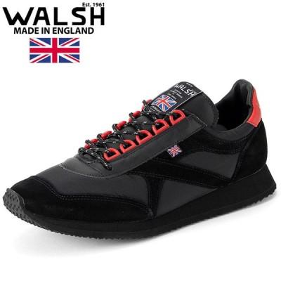 ウォルシュ WALSH スニーカー VOYAGER SP ユニセックス ブラック VOY50019 黒色