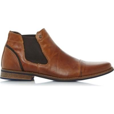 デューン Dune London メンズ ブーツ チェルシーブーツ シューズ・靴 Chili Toecap Detail Chelsea Boots Tan