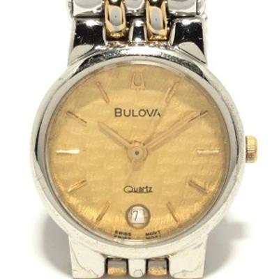 ブローバ Bulova 腕時計 レディース ゴールド【中古】20210225