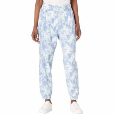 ボボウ Bobeau レディース ボトムス・パンツ Knit Pants Light Blue Tie Dye