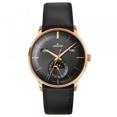 ユンハンス JUNGHANS マイスター カレンダー 027 7504 01 ブラック文字盤 新品 腕時計 メンズ