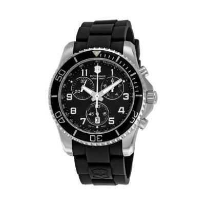 腕時計 ビクトリノックス スイス VICT241431 Victorinox Swiss Army Men's 241431 Maverick Black Dial