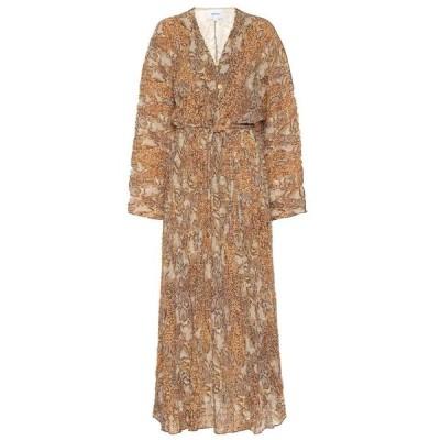 ナヌシュカ Nanushka レディース ワンピース ワンピース・ドレス chul printed dress Brown Snake