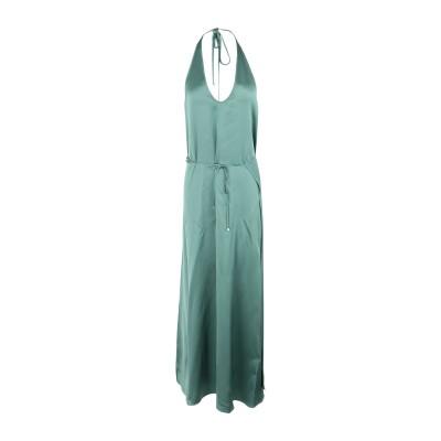 アリジ ALYSI ロングワンピース&ドレス グリーン 42 アセテート 75% / レーヨン 25% ロングワンピース&ドレス