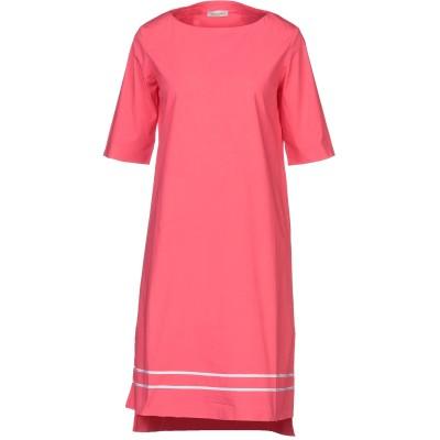 BRUNO MANETTI ミニワンピース&ドレス コーラル 42 コットン 96% / ポリウレタン 4% ミニワンピース&ドレス