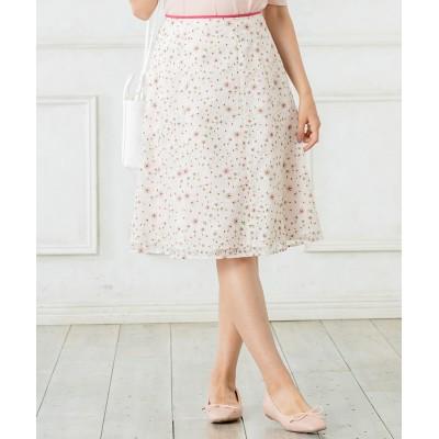 【洗える!】TRUMPET FLOWER スカート