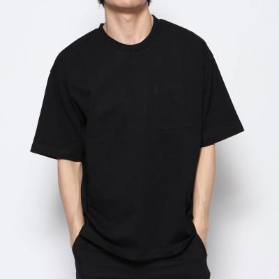 ティゴラ TIGORA メンズ 半袖Tシャツ SMART USAコットンヘビーウエイトビッグTシャツ TR-9C1180TSHBSM