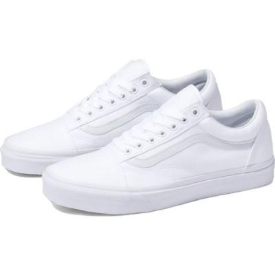 ヴァンズ Vans レディース スニーカー シューズ・靴 classic old skool shoes True White
