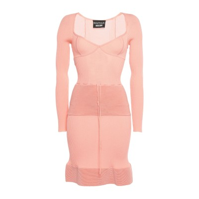 BOUTIQUE MOSCHINO ミニワンピース&ドレス ピンク 40 レーヨン 64% / ナイロン 36% ミニワンピース&ドレス