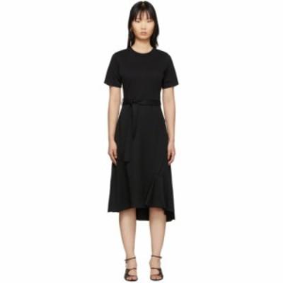 スリーワン フィリップ リム 3.1 Phillip Lim レディース ワンピース Tシャツワンピース ワンピース・ドレス Black Wool Combo T-Shirt D