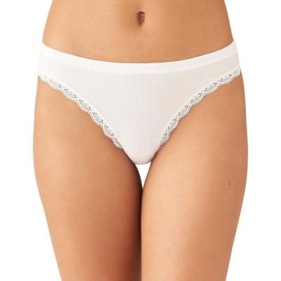 ビーテンプティッド b.tempt'd レディース ショーツのみ インナー・下着 Innocence Daywear Thong Underwear 979214 White