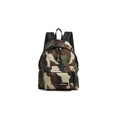 Eastpak Women's Padded Pak'r Backpack, Camo, Green, Print, One Size【並行輸入品】