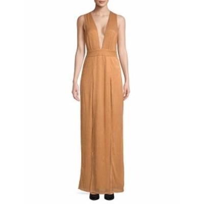ラバーズ&フレンズ レディース ワンピース Naomi Deep-V Slit Gown