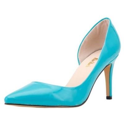 ハイヒール レディース  美脚パンプス とんがり 通勤 パーティー  エナメル靴 ファッション 春夏 可愛い キャンディ色 12カラー