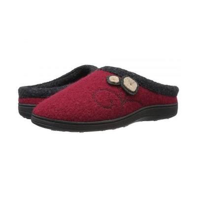 Acorn エイコーン レディース 女性用 シューズ 靴 スリッパ Dara - Currant Button