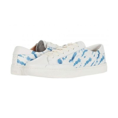 Soludos ソルドス レディース 女性用 シューズ 靴 スニーカー 運動靴 Shibori Ibiza Sneaker - White/Blue