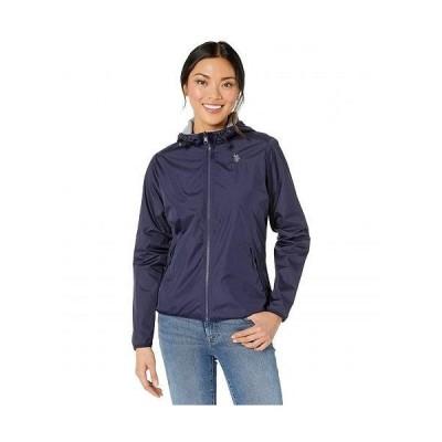 U.S. POLO ASSN. USポロ レディース 女性用 ファッション アウター ジャケット コート カジュアルジャケット Reversible Jacket - Evening Blue
