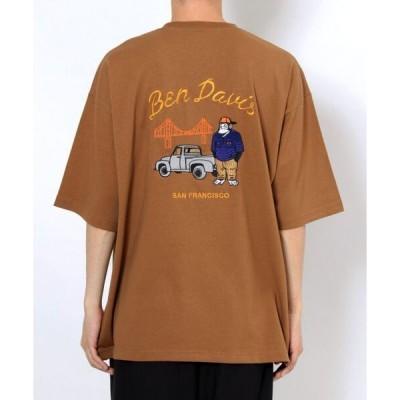 tシャツ Tシャツ 【 BEN DAVIS ( ベンデイビス )】RUDE EMBROIDERY BIG TEE