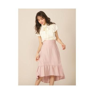 ミーア MIIA フィッシュテールスカート (ピンク)