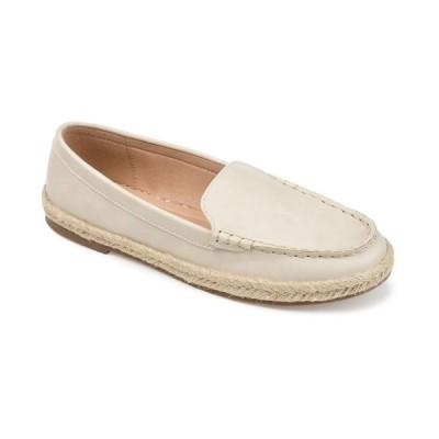 ジャーニーコレクション サンダル シューズ レディース Women's Comfort Foam Balie Espadrille Flat Beige