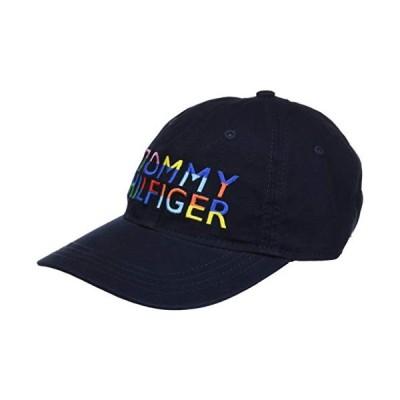 Tommy Hilfiger Mens Jimmy Dad Hat, Sky Captain/Multi, OS