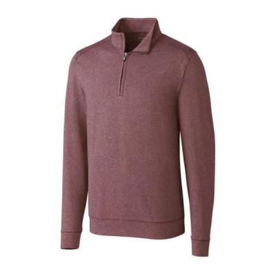カッターアンドバック メンズ Tシャツ トップス Men's Shoreline Half Zip