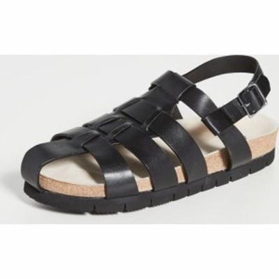グレンソン Grenson メンズ サンダル シューズ・靴 cyrus sandals Black