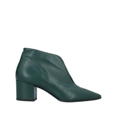 STELE ショートブーツ ファッション  レディースファッション  レディースシューズ  ブーツ  その他ブーツ ダークグリーン