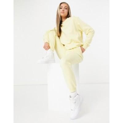 エイソス レディース パーカー・スウェット アウター ASOS DESIGN tracksuit ultimate sweatshirt / sweatpants with tie in organic cot