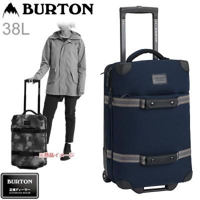 バートン キャリーバッグ  20SS  WHEELIE FLIGHT DECK 38L  Dress Blue Waxed  14945111400  航空会社の持込可能  キャスター付 ラゲージバッグ BURTON