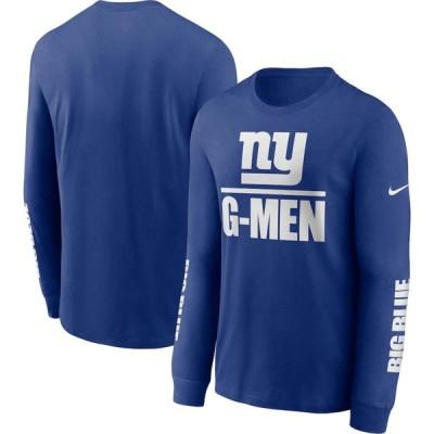 NFL ニューヨーク・ジャイアンツ Tシャツ tシャツ メンズ 長袖 ロンT ロンt ナイキ/Nike ロイヤル