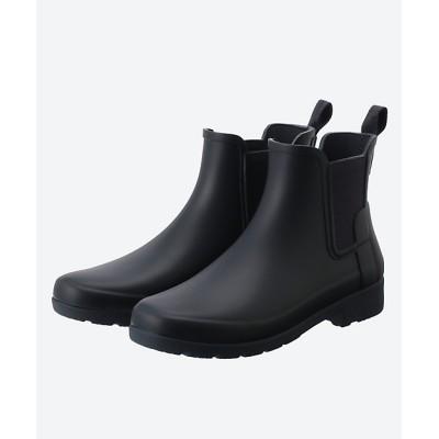 <HUNTER(Women)/ハンター> ブーツ ORIGINAL REFINED CHELSEA ネービーブルー(NAVY)【三越伊勢丹/公式】