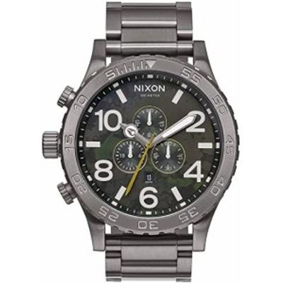 ニクソン NIXON 51-30 CHRONO クオーツ メンズ クロノ 腕時計 A083-2069 グリーン オキサイド