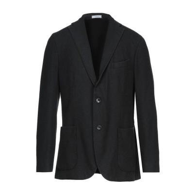 ボリオリ BOGLIOLI テーラードジャケット スチールグレー 52 ウール 100% テーラードジャケット