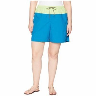 コロンビア ショートパンツ Plus Size Sandy River Color Blocked Shorts Jewel/Neon Light/Mineshaft