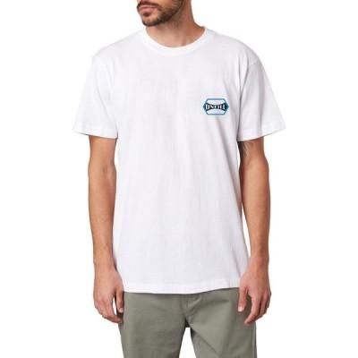 オニール O'NEILL メンズ Tシャツ ロゴTシャツ トップス Tropic Thunder Floral Logo Graphic Tee White