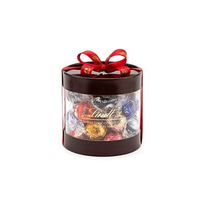リンツ (Lindt) チョコレート リンドールギフトボックス 27個入り ショッピングバッグS付