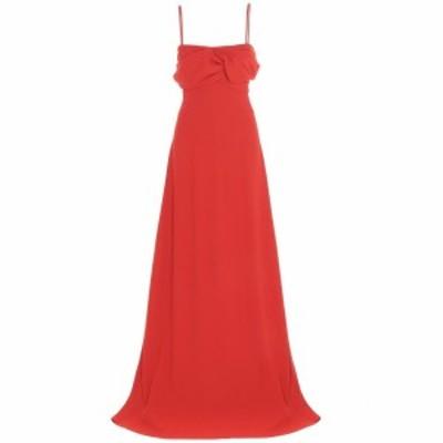 GIAMBATTISTA VALLI/ジャンバティスタ ヴァリ Red Crepe long dress レディース 秋冬2020 20FWPVRO504202SAB6750 ju