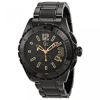 ゲス 腕時計 メンズウォッチ Guess Collection GC Sport Chronograph Black Ceramic Mens Watch X76014G2S